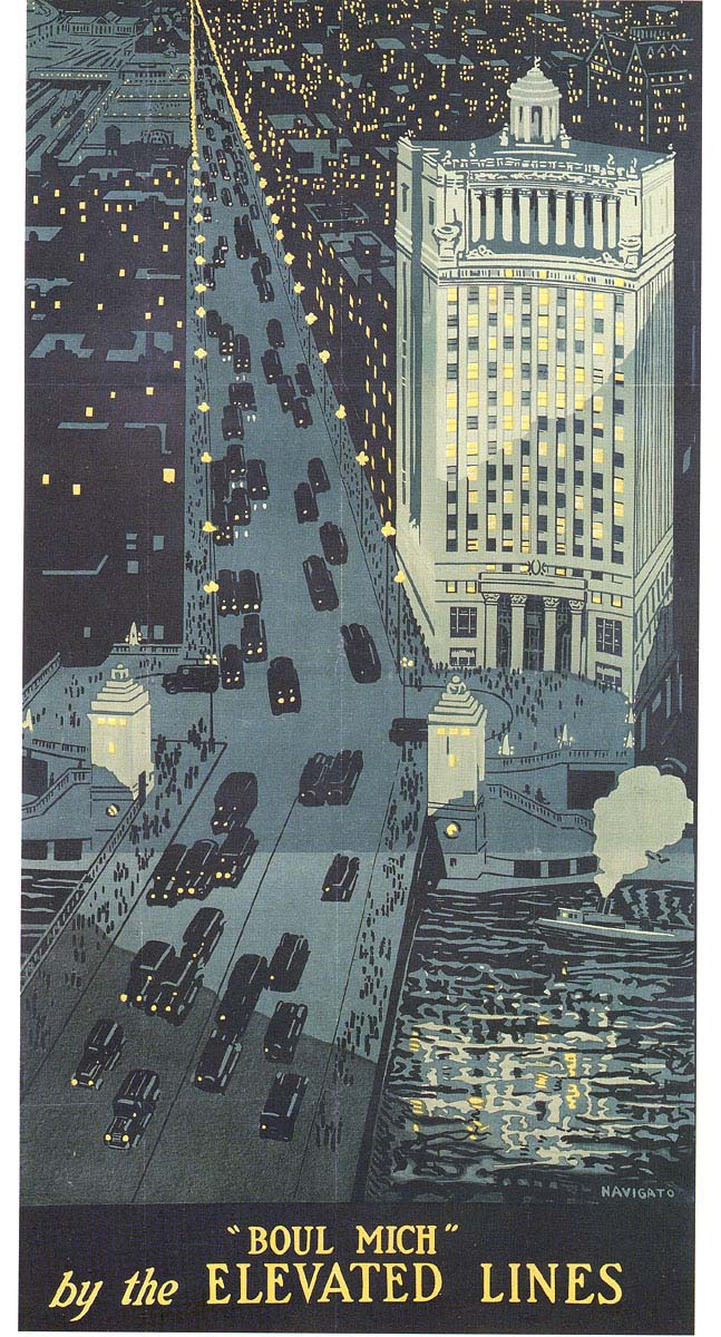 Chicago Transport Posters 1