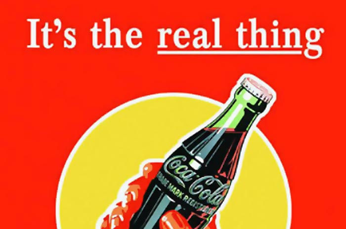 Coke Its The Real Thing Slogan