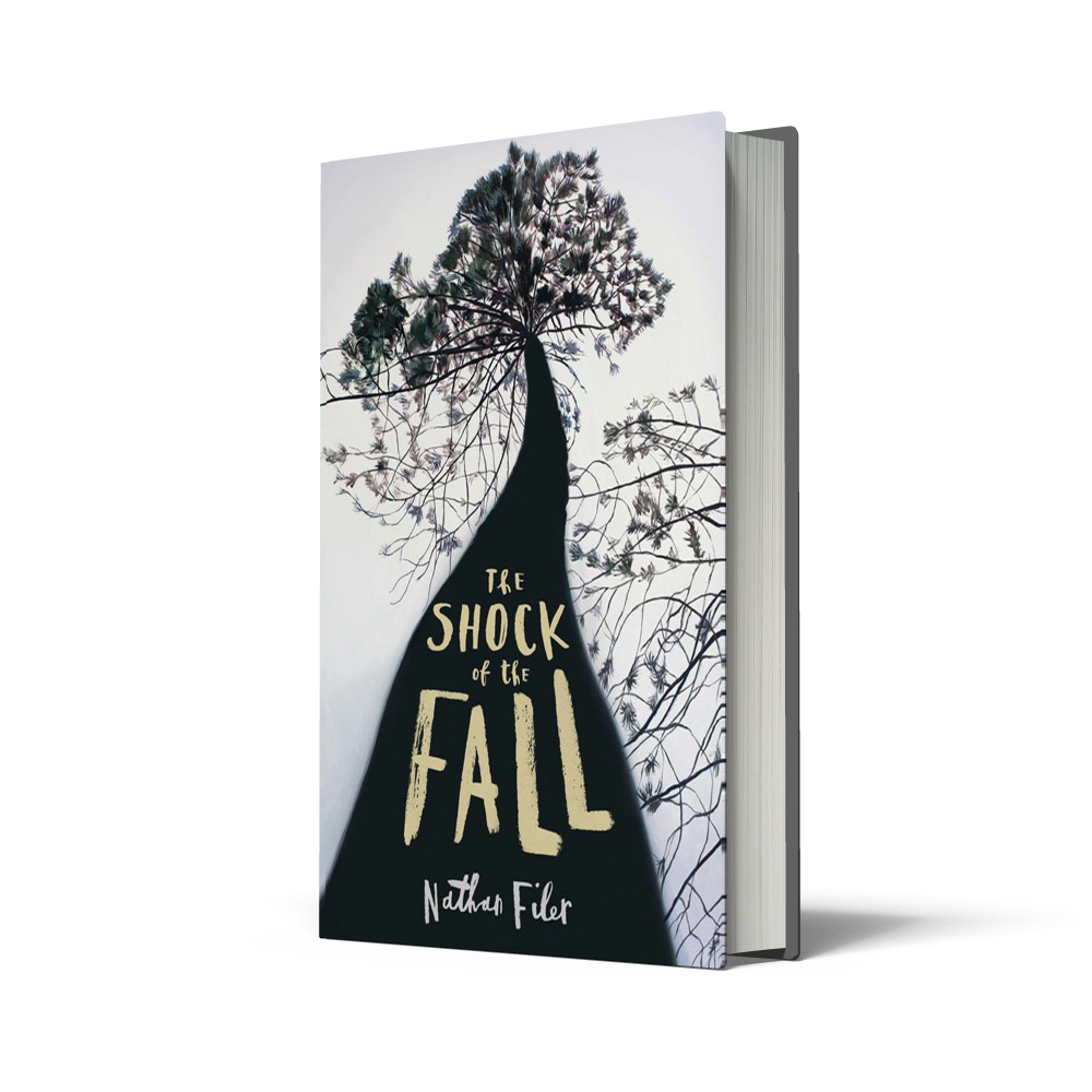 Shock of the Fall, Nathan Filer, book cover design, BBC