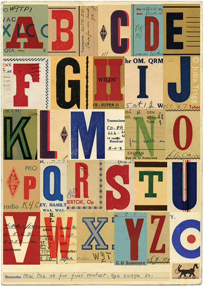 Letterform Collages 3