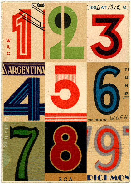 Letterform Collages 1