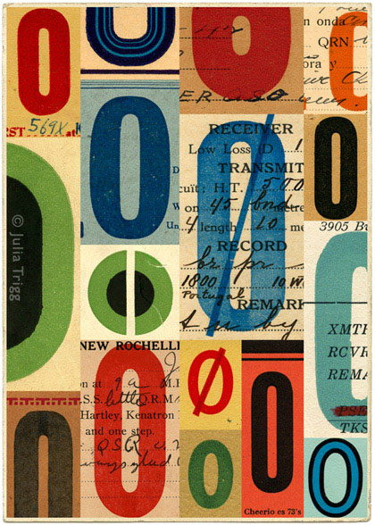 Letterform Collages 8