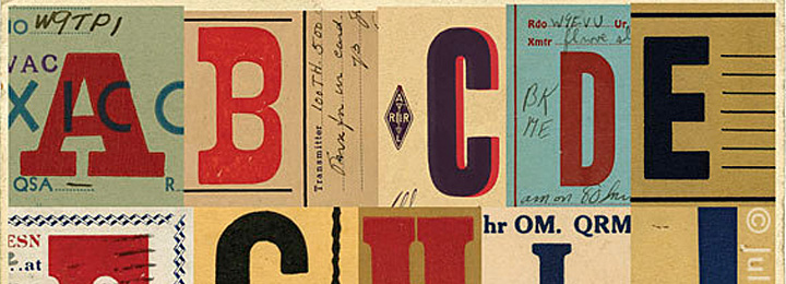 Radio card collages
