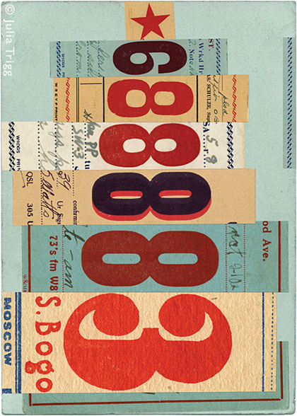 Letterform Collages 9