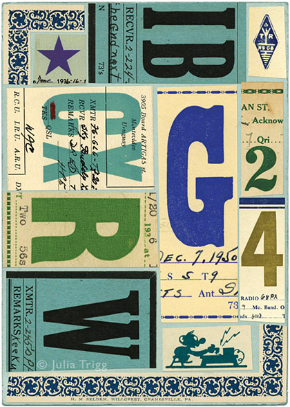 Letterform Collages 5