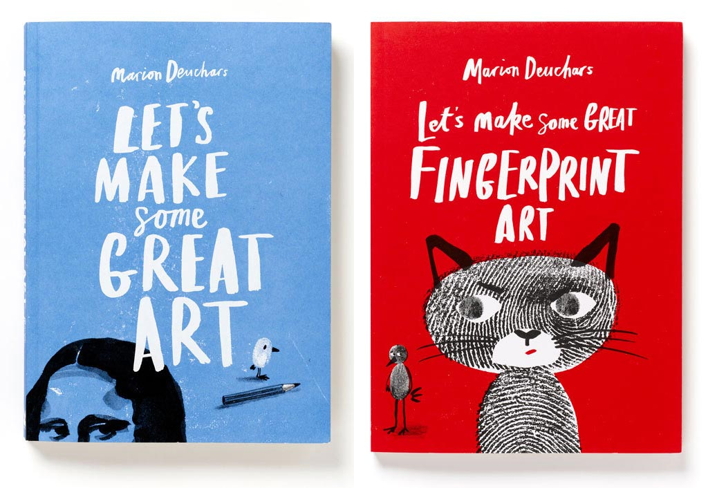 marion deuchars lets make great art books