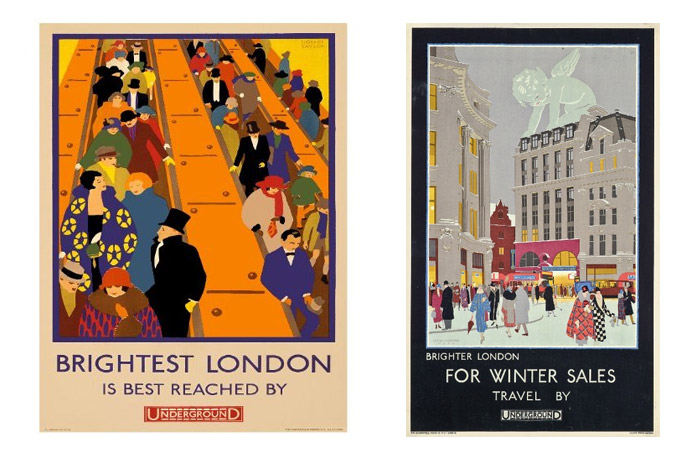 Frank Pick commissioned London Underground Posters